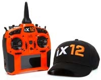 Spektrum RC iX12 2.4GHz DSMX 12-Channel Radio System (Transmitter Only) (Orange) SPMR12000O