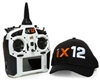 Spektrum RC iX12 2.4GHz DSMX 12-Channel Radio System (Transmitter Only) (White) SPMR12000W