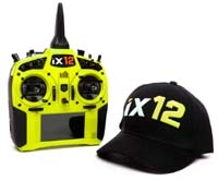Spektrum RC iX12 2.4GHz DSMX 12-Channel Radio System (Transmitter Only) (Yellow) SPMR12000Y