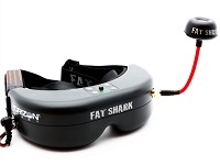 Fat Shark Teleporter V4 Video Headset with Head Tracking (SPMVR1100)