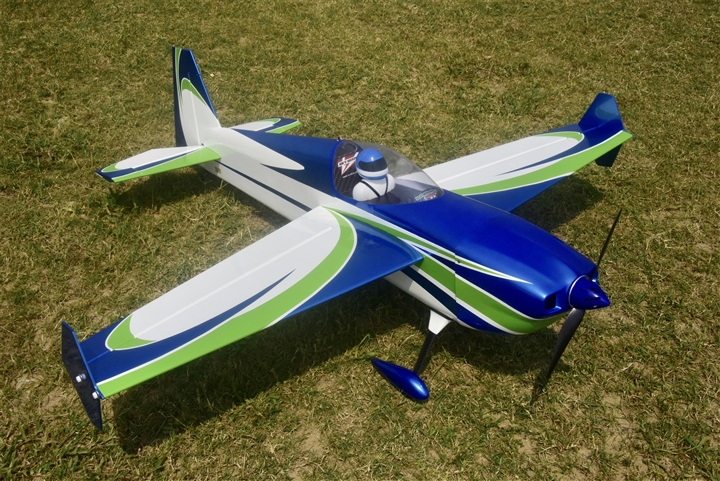 "Skywing RC 60"" Laser260-V2-B-covering 70E"
