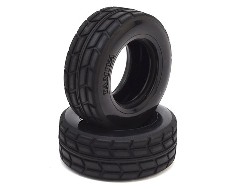Tamiya On-Road TT-01 / TT-02 Racing Semi Truck Tires (2) TAM51589