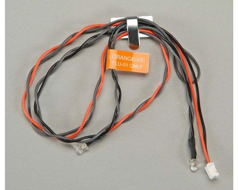 Tamiya Orange LED Light (2): TLU01, TAM53912