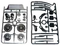 Tamiya Body Accessory Parts Set: 1/10 Touring, TAM54139
