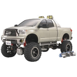 Tamiya Toyota Tundra High-Lift 1/10 4x4 Scale Pick-Up Truck w/3 Speed Transmission
