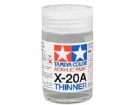 ACRYL/POLY THINNER X-20A 46ML  TAM81030