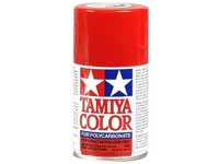 Tamiya PS-02 Red Polycarbonate Spray Paint, TAM86002