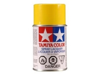 Tamiya PS-06 Yellow Polycarbonate Spray Paint (TAM86006)