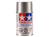 Tamiya PS-12 Silver Polycarbonate Spray Paint (TAM86012)