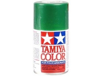 Tamiya PS-17 Metal Green Polycarbonate Spray Paint (TAM86017)