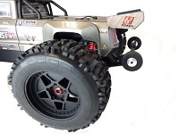 TBR Rear Bumper w/ Wheelie Bar for Arrma Outcast, 10062