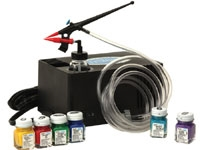 Testors 9169 Mighty Mini Airbrush w/Compressor Set