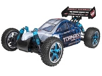 Tornado EPX PRO 1/10 Scale Brushless Buggy (BLUE/SILVER)