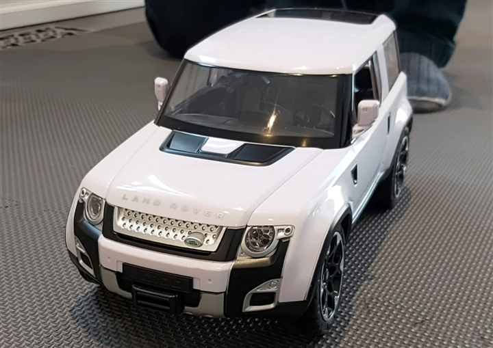 RC Land Rover DC100 - White Color