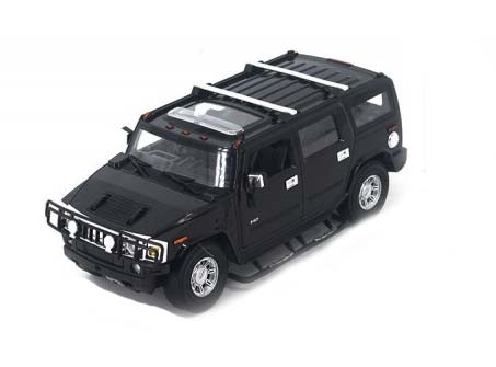 Hummer H2 SUV 1/18 scale (Black)