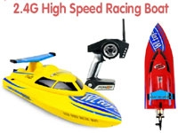 2.4GHZ R/C FREEDOM HIGH SPEED RACING RADIO REMOTE CONTROL RC BOAT BT911 YELLOW