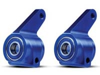 Traxxas Aluminum Steering Blocks w/Ball Bearings (Blue) (2), TRA3636A