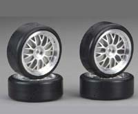 Traxxas Mounted Slick Tires (4) TRA4873