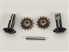 Revo Gear set, differential (output gears (2)/ spider gears (2)/ spider gear shaft