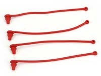 Body Clip Retainer, Red (4) TRA5752