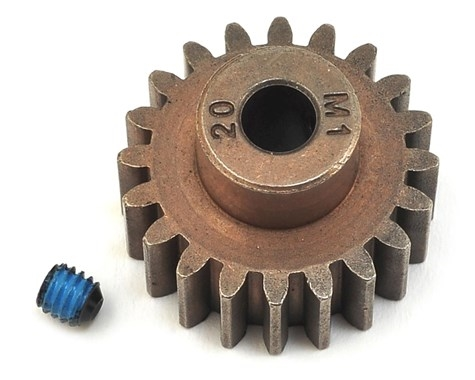 Traxxas Hardened Steel Mod 1.0 Pinion Gear w/5mm Bore (20T) TRA6494X