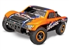 Traxxas Slash 4X4 Brushless 1/10 4WD RTR Short Course Orange - TRA680864 ORANGE