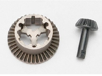 Diff, Ring Gear & Pinion Gear: 1/16 SLH, ERV (TRA7079)