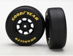 Assembled 1.9 Goodyear Tires & Wheels (2)