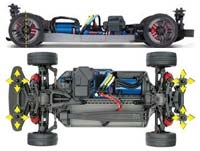 Traxxas 4-Tec 2.0 1/10 Brushless RTR Touring Car Chassis (NO Body), TRA830764