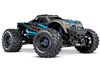 Traxxas Maxx with 4S ESC - Blue 1/10 Scale 4WD Brushless Electric Monster Truck, TRA890764 BLUE