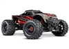 Traxxas Maxx with 4S ESC - Red 1/10 Scale 4WD Brushless Electric Monster Truck, TRA890764 RED
