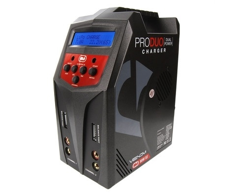 Venom Power Pro Duo AC/DC Battery Charger (6S/7A/80W) VNR0685