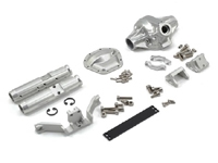 "Vanquish Products ""Currie Rockjock"" SCX10 Rear Axle Assembly (Silver)"