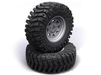 Rc4Wd Z-T0086 Prowler XS Scale 1.9 Tires, Z-T0086