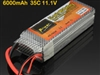 Power 6000mah 3S 11.1V 35C MAX 70C lipo battery