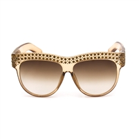 Crystal Oversized Sunglasses For Women Sparkling Square Brand Designer