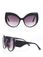 SUNGLASS RIMLESS CATEYE