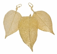 Large Leaf Earring and Pendant Set