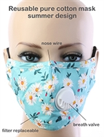 RESUABLE RESPIRATOR COTTON MASK GENERAL MERCHANDISE
