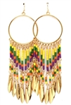 Long Ethnic Earrings