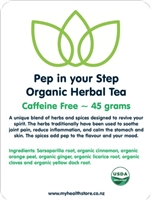 Pep in your Step Tea