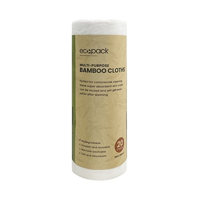 EcoPack Multi Purpose Bamboo Cloths