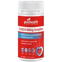 Good Health CoQ10 400mg Complex