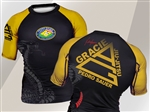 Gold Snake Rash Guard