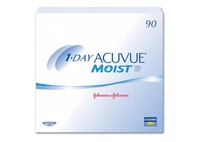 Acuvue Moist disposable contact lenses 90 pack