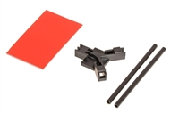 Flat Antenna Mount Black