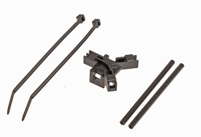 Antenna Support For Tail Boom Black