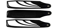 SAB 105mm TBS Carbon Fiber Tail Blade Set (3)