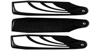 SAB 115mm TBS Carbon Fiber Tail Blade Set (3)