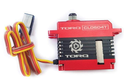 TORQ CL0604T Mini HV Rudder Servo